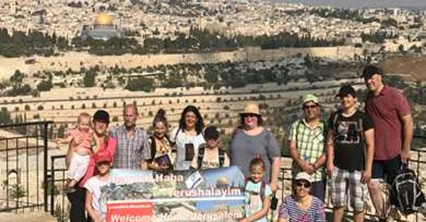 Gruppe Welcome Home Jerusalem 2017